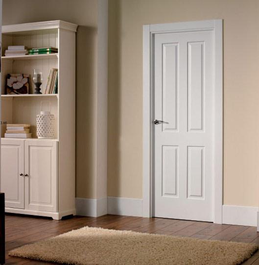 puertas de interior blanca marbella